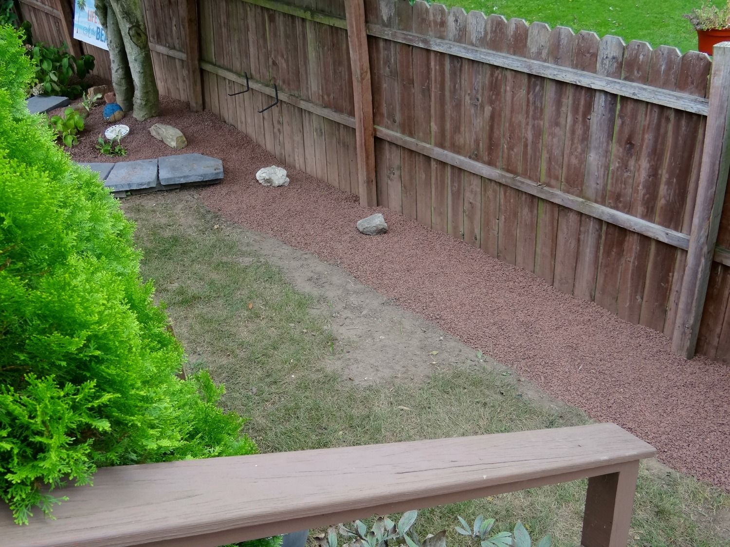 side yard makeover beauteeful living