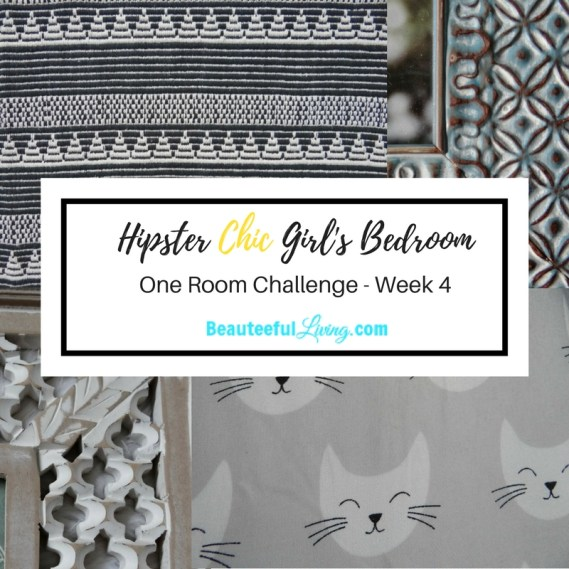 Hipster Chic Girl's Room - ORC Week 4
