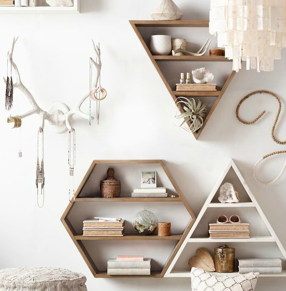 Wall Shelving Decor - RH Teen
