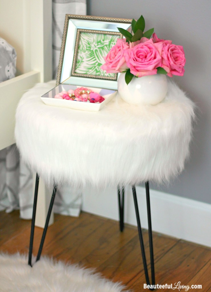 Boho Hipster Chic Bedside Table - Beauteeful Living