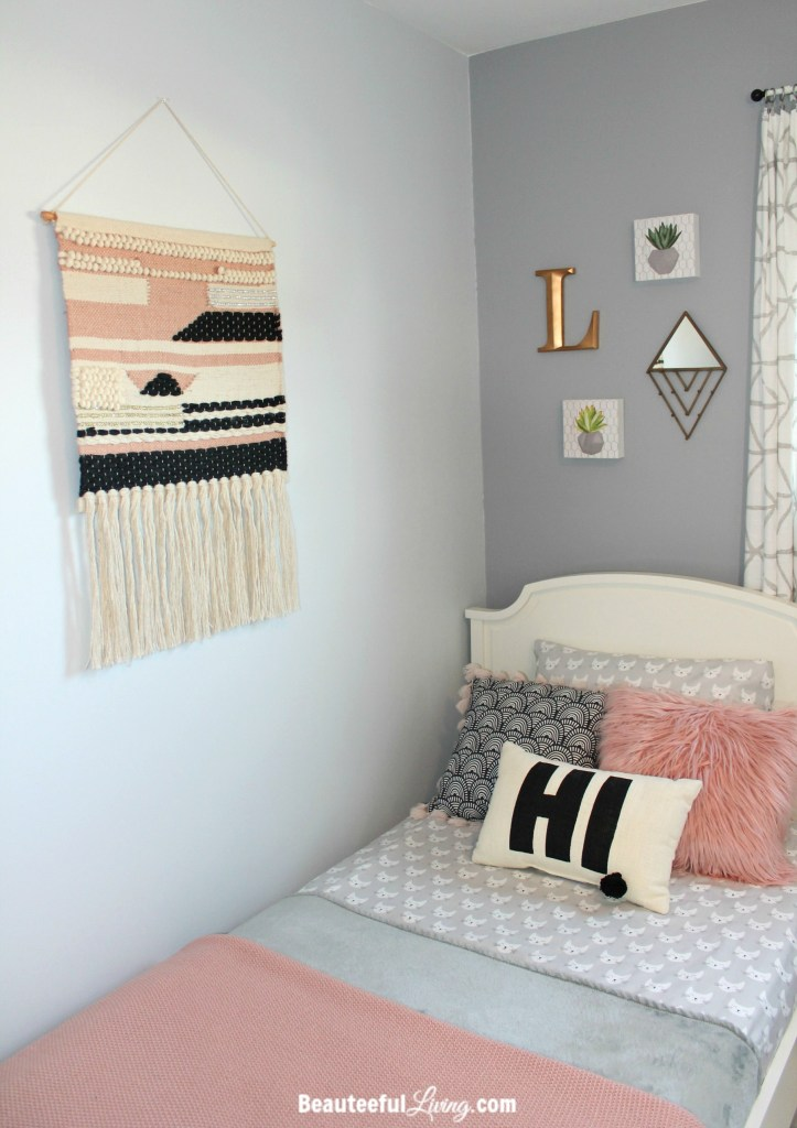 Boho Hipster Chic Girls Room Color Scheme - Beauteeful Living