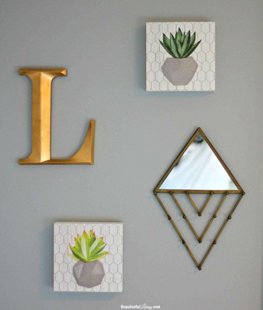 Mini gallery wall - Beauteeful Living