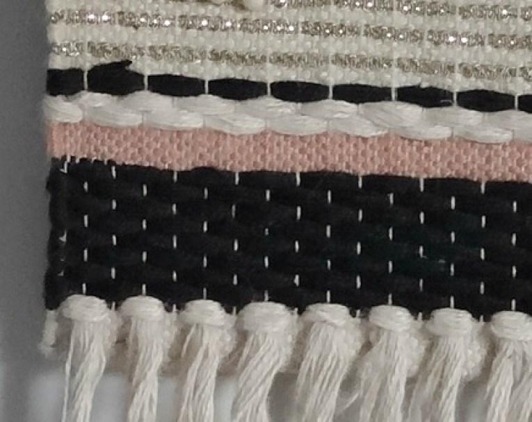 Woven wall hang
