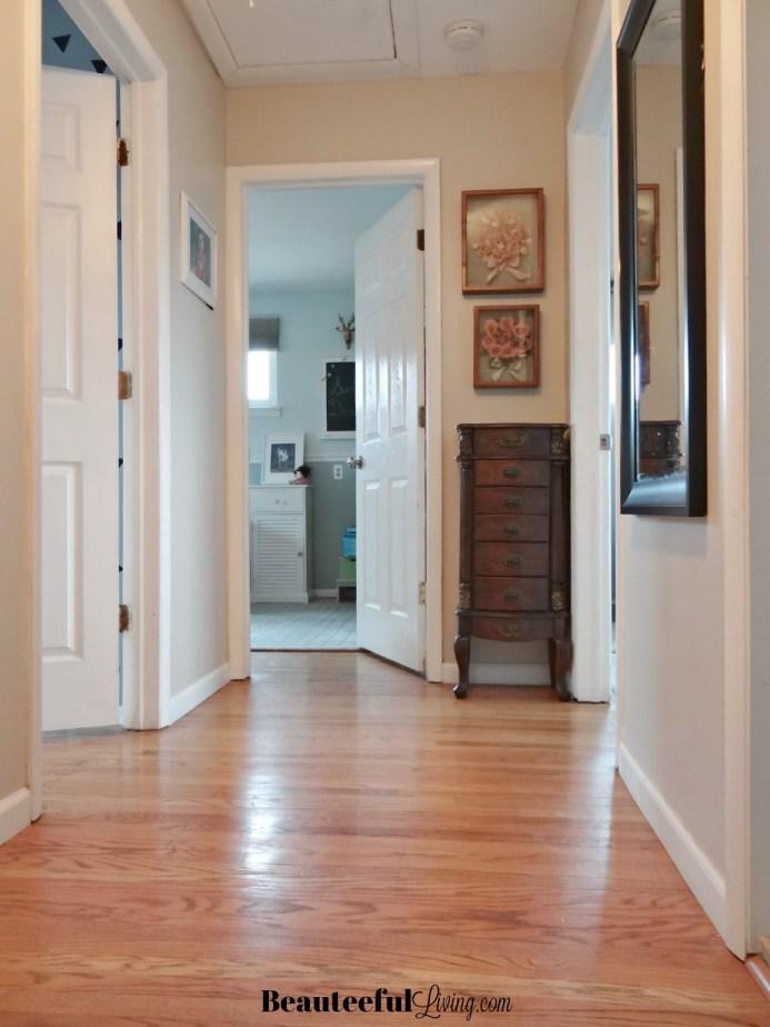 Bedroom Hallway Vertical View