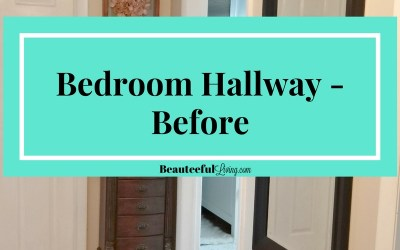 Bedroom Hallway – Before