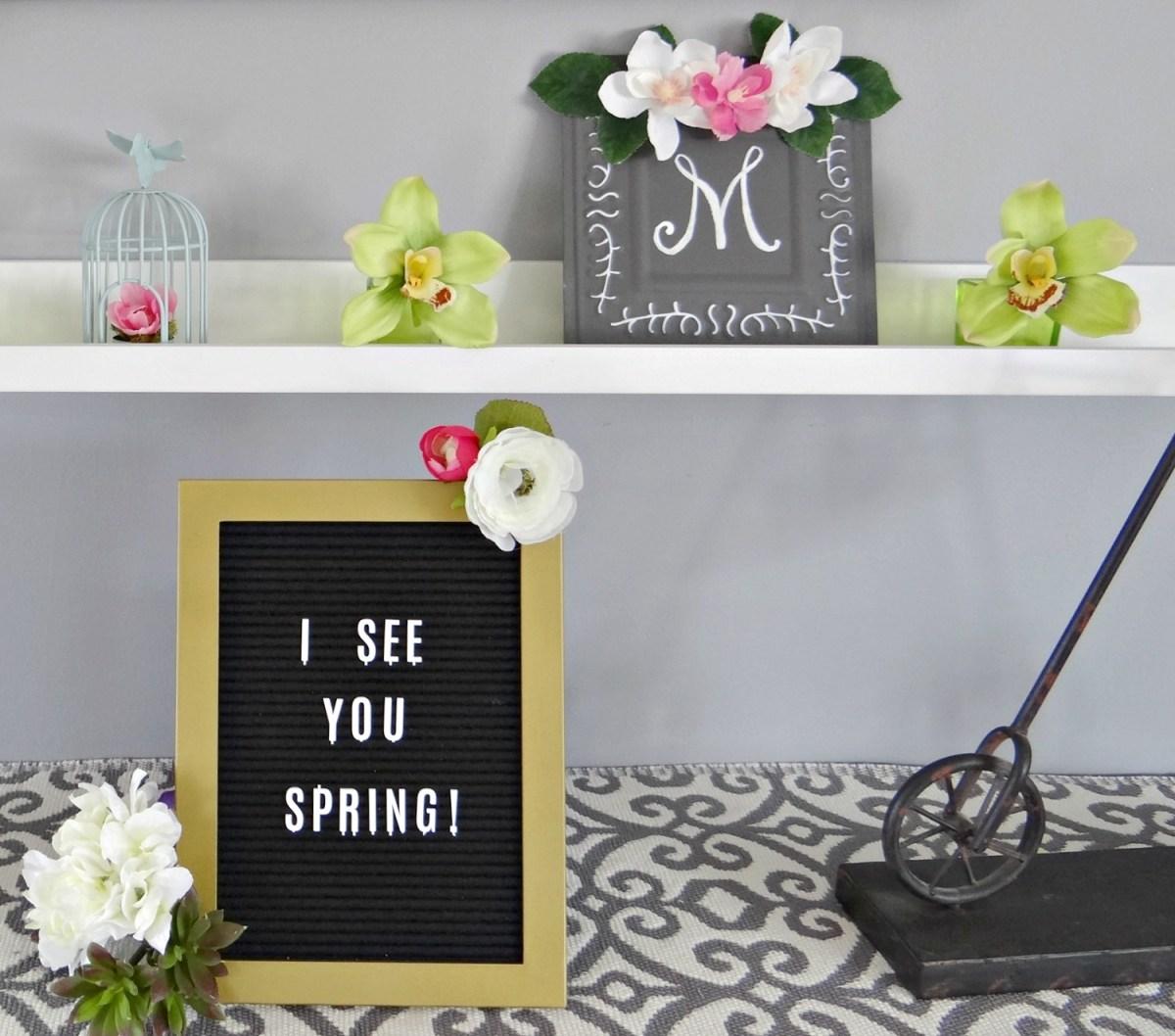 Spring Mantel 2018