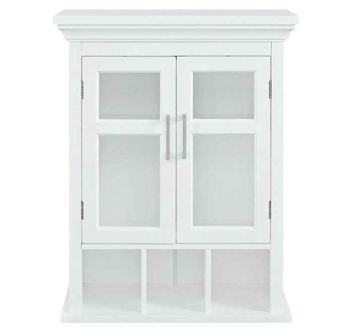 White Bathroom Wall Cabinet