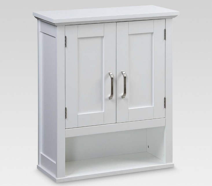 White Bathroom Wall Cabinet - Target