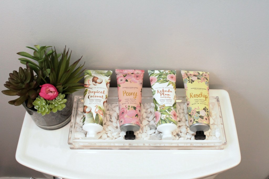 Spa Inspired Bathroom - Pretty Lotion - Beauteeful Living