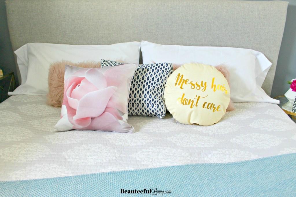 Bedroom Throw Pillows - Beauteeful Living