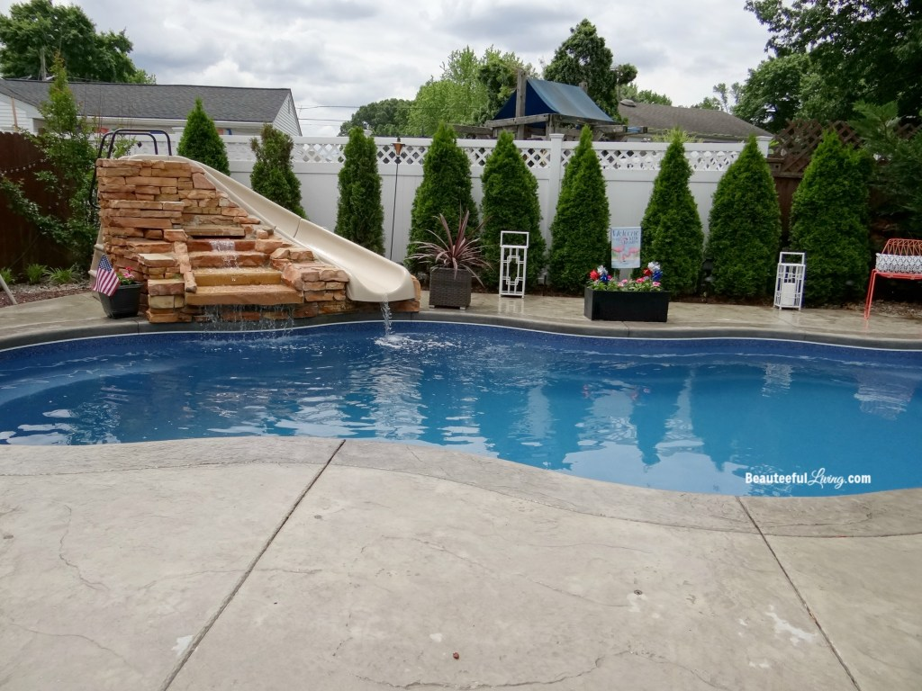 Fiberglass Inground Pool - Beauteeful Living