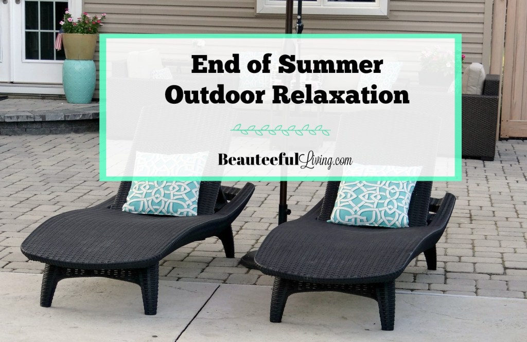 End of Summer Outdoor Relaxation