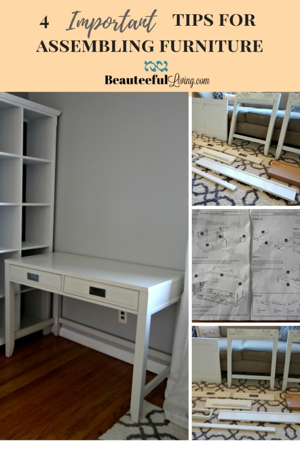 4 Important Tips for Assembling Furniture - Beauteeful Living