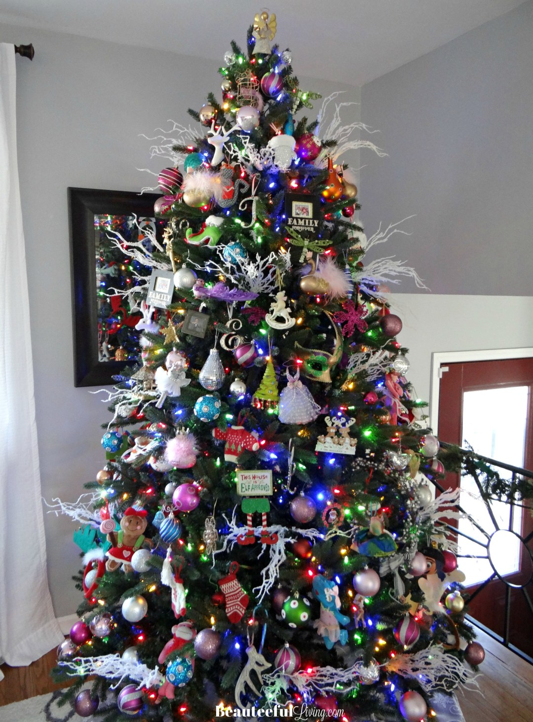 Prelit 7 foot Christmas Tree - Beauteeful Living