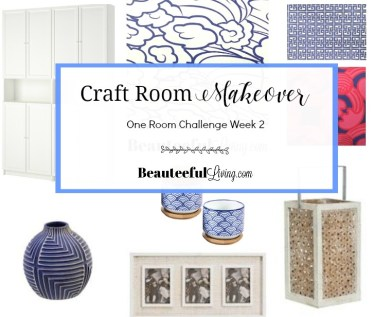Resort Chic Craft Room - Beauteeful Living