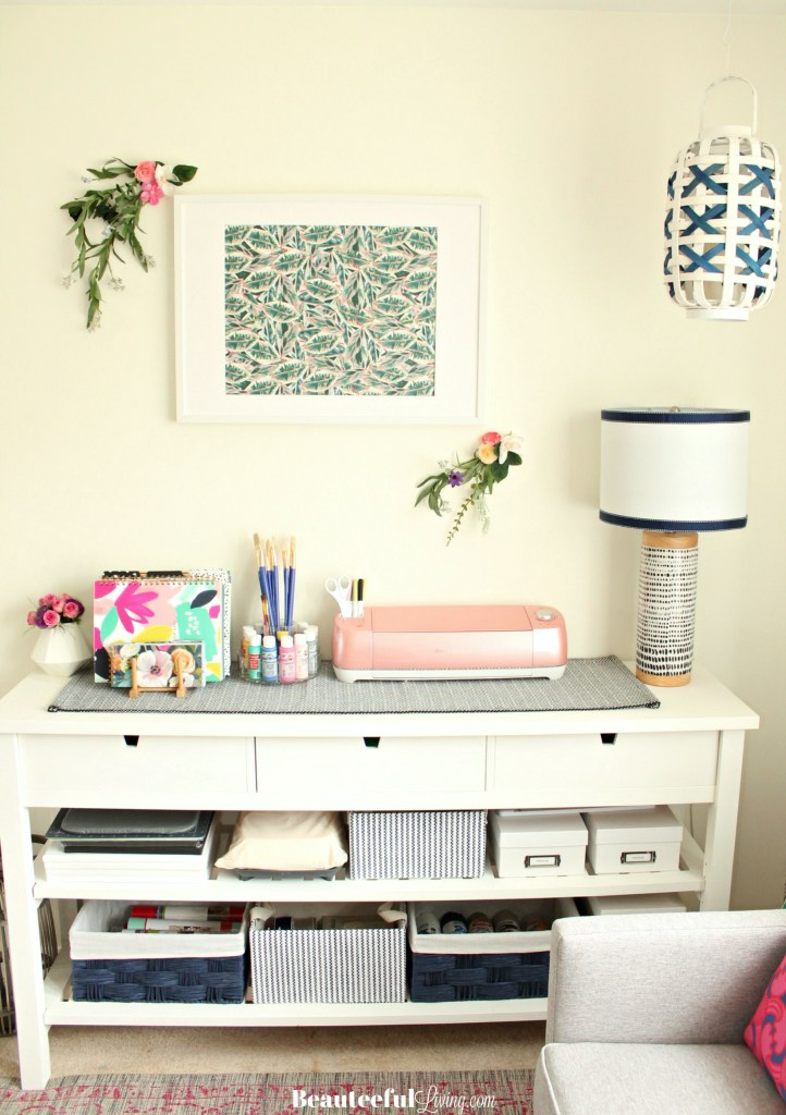 Craft Room Craft Organization - Beauteeful Living