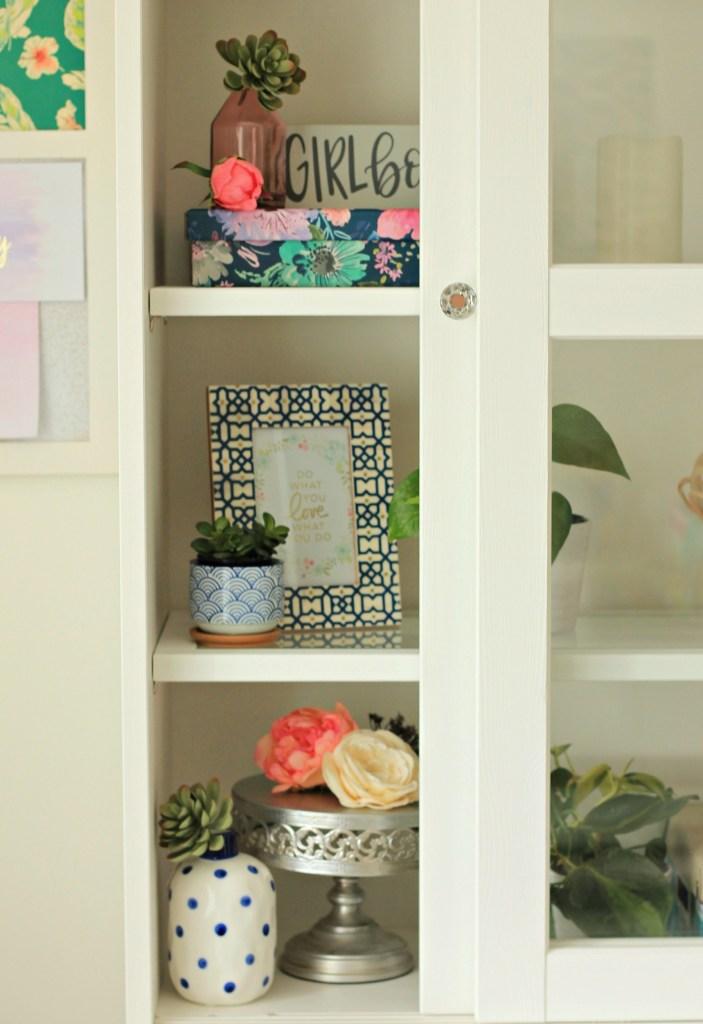 Craft Room Makeover Decor - Beauteeful Living