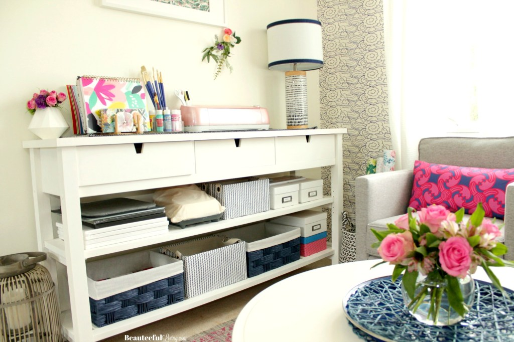 Craft Room Makeover Decor - Beauteeful Living