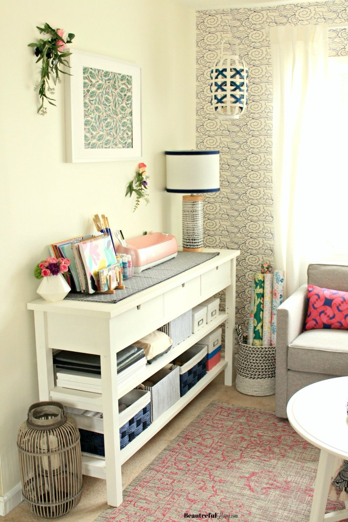 Craft Room Makeover - Beauteeful Living