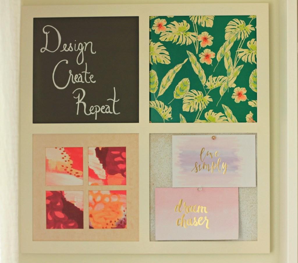 Craft Room Wall Decor - Beauteeful Living