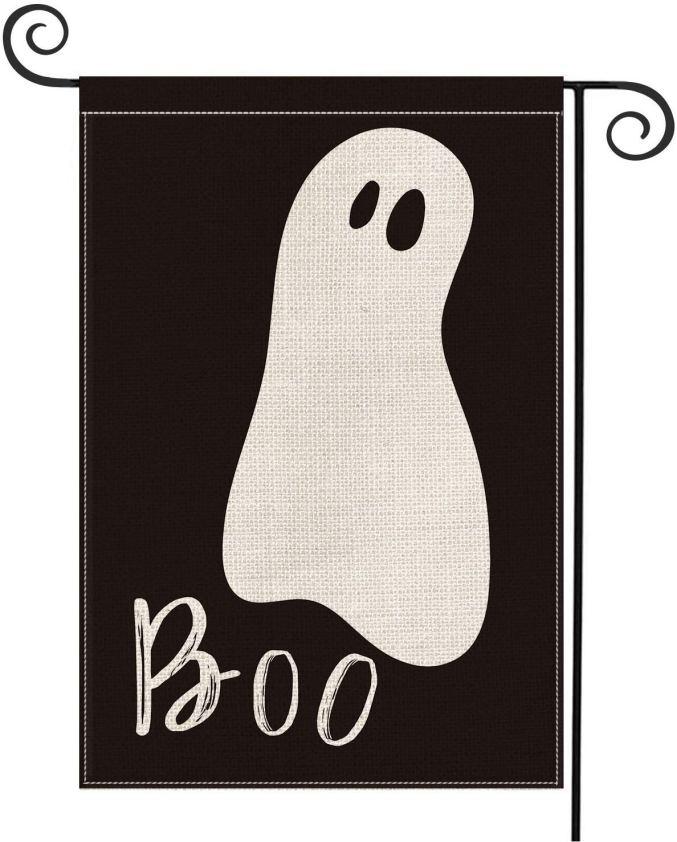 Boo Halloween Garden Flag