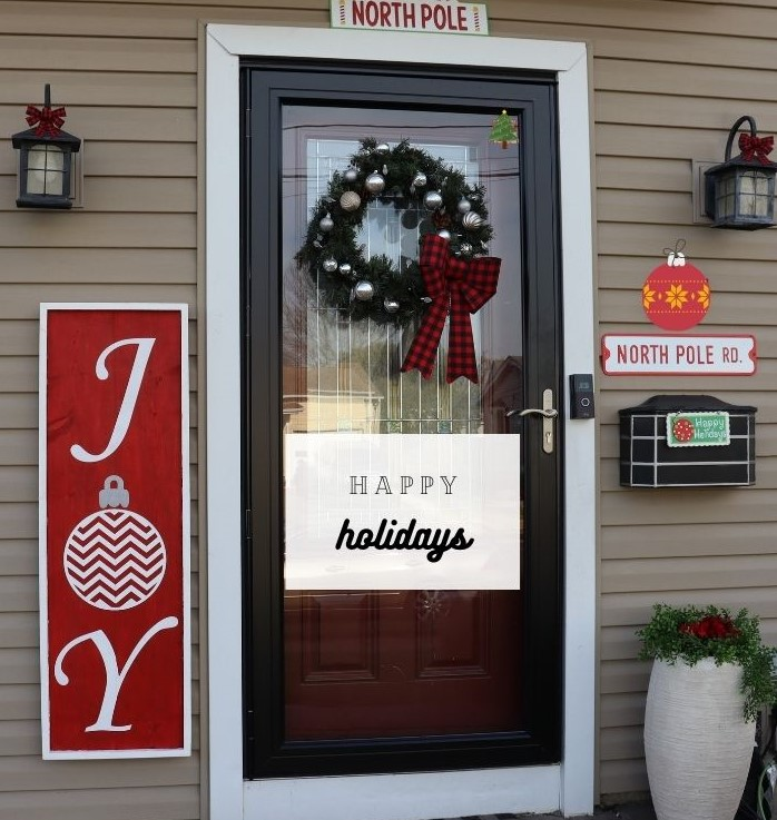 Christmas Front Door Decor