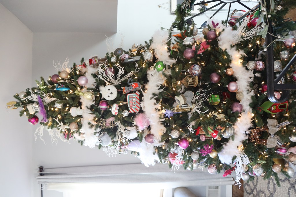 Glam White Feather Christmas Tree - Beauteeful Living