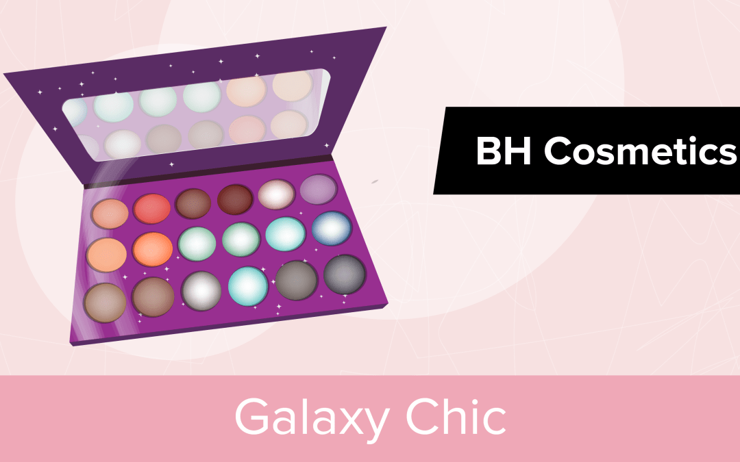 On teste la palette Galaxy Chic de chez BH Cosmetics