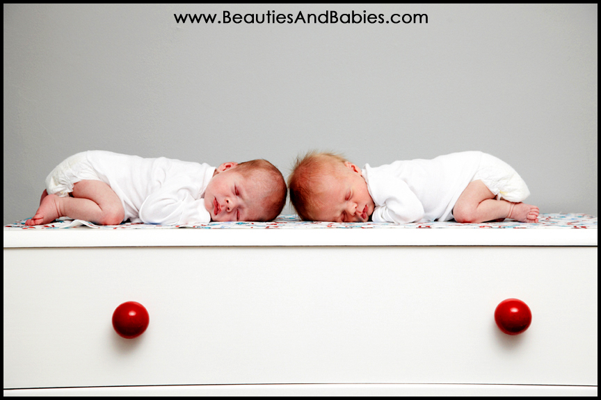 Newborn Baby Boy And Girl Twin Photography Los Angeles
