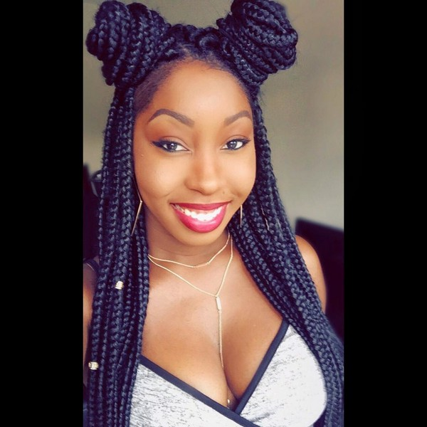 72 Box Braids Hairstyles With Instructions And Images Beautified
