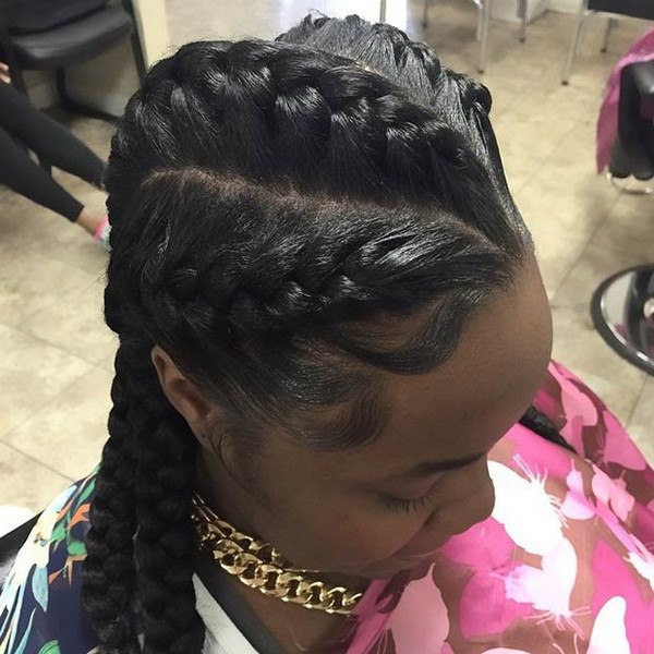 82 Goddess Braids Hairstyles With Pictures Beautified Designs