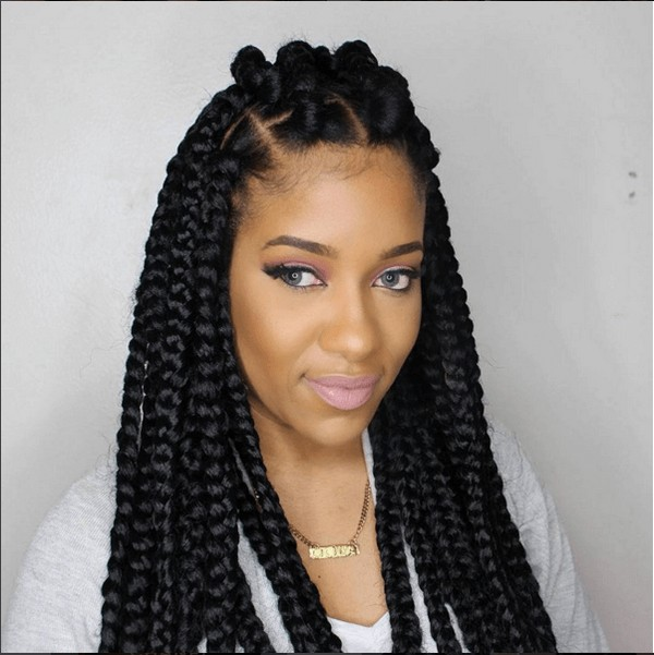 42 Best Big Jumbo Braids Styles With Images Beautified Designs