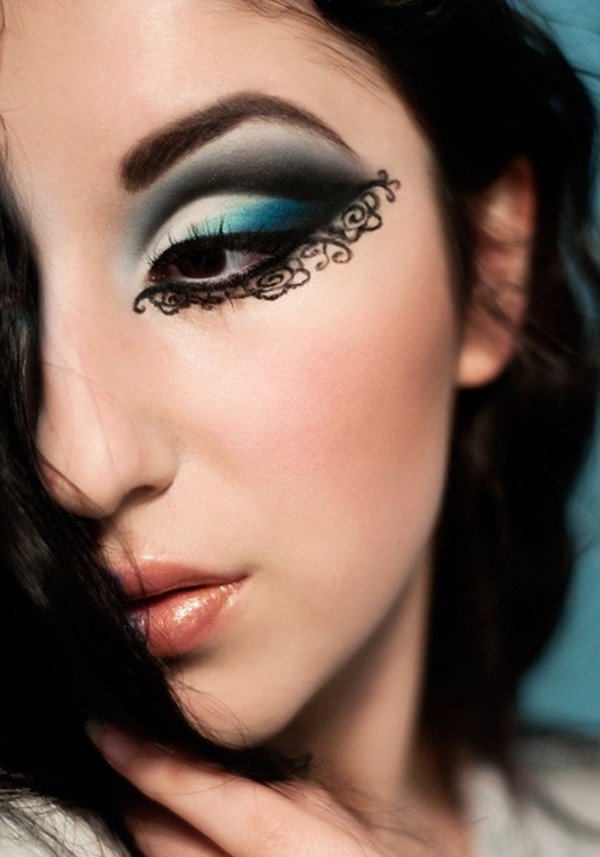 Eyeliner Styles Chart