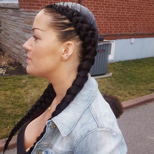 21 Beautiful Two Braids Hairstyles With Images Beautified Designs