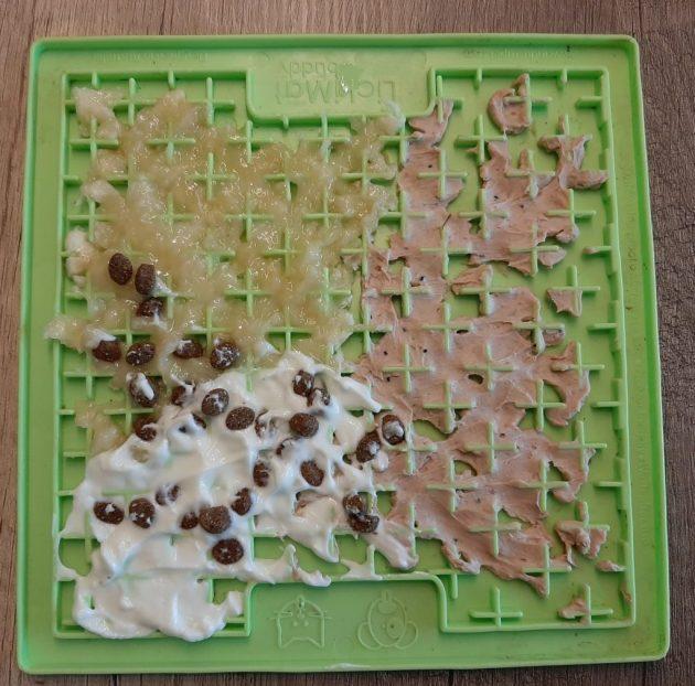 Schleckmatte, erhältlich nur in Caro's Hundesalon