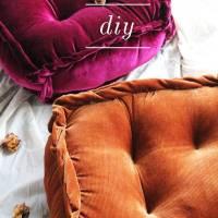 DIY: Cosy Reading-Nook Floor Cushions (UO Inspired)