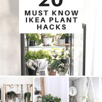 20 Genius & Practical IKEA Plant Hacks & DIYs You Need To Try!