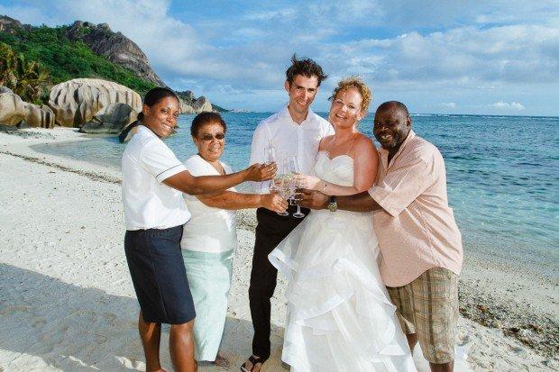 Traumhochzeit auf den Seychellen  auergewhnlich