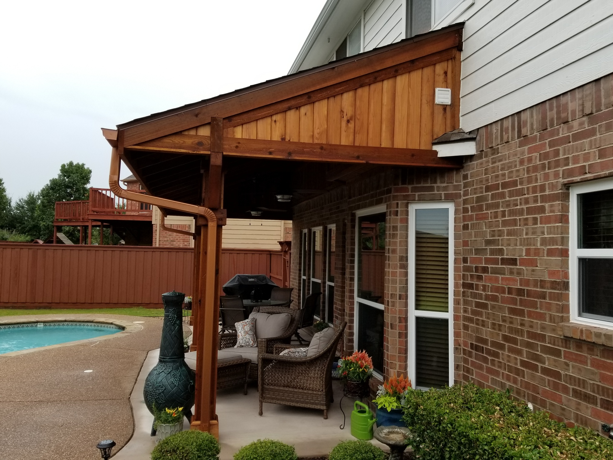 Frisco Patio Cover Companies Beautiful Backyard Living Patio Covers