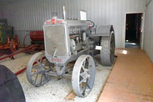 A Twin City is one of the rare tractors on display.