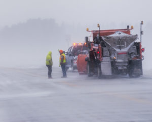 Snow storms call out snow plows