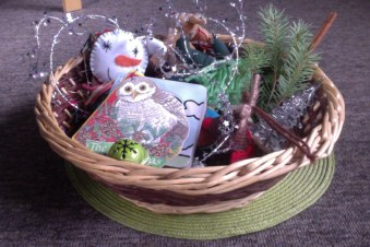 Christmas Themed Discovery Basket