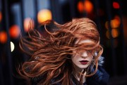 inspiration windswept hair