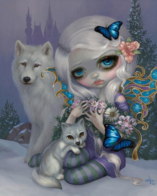 Jasmine Becket-Griffith Winter Fairies