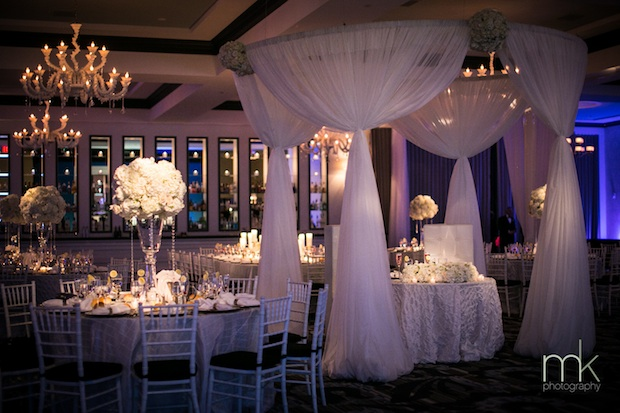 Wedding Wednesday White Ivory and Crystal  Beautiful Blooms