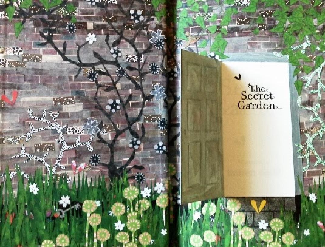 Secret Garden by Lauren Child (standard ed) | beautifulbooks.info
