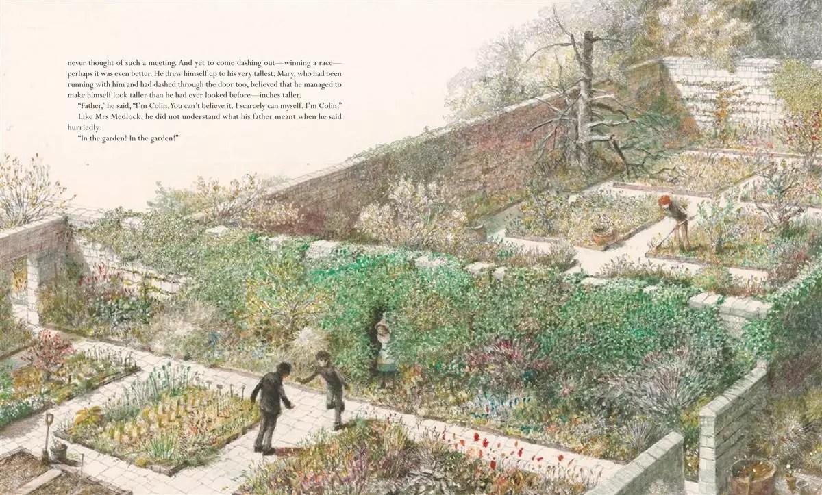 Secret Garden illustration by Robert Ingpen