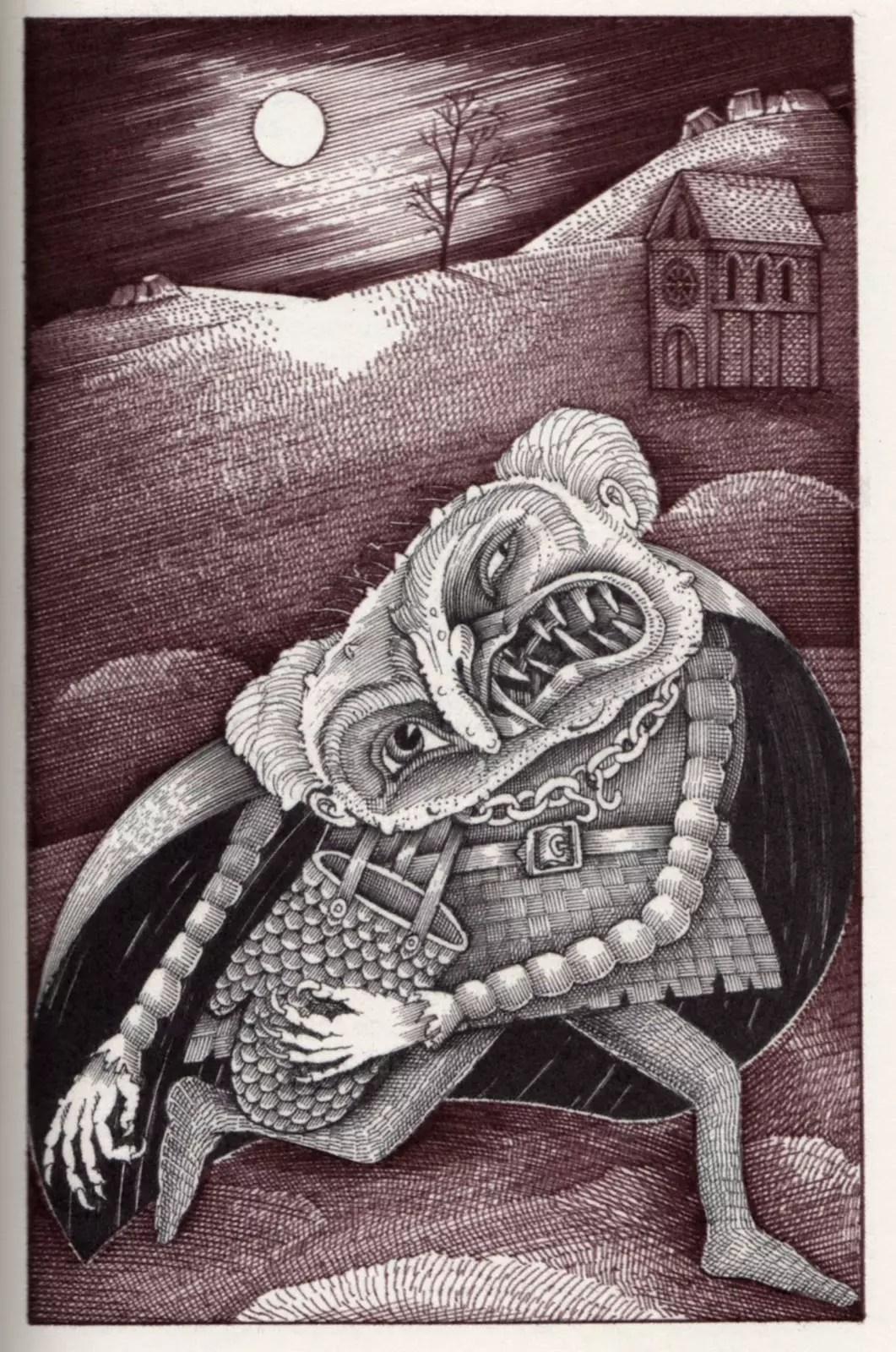 Grendel from FS British Myths & Legends – beautifulbooks.info
