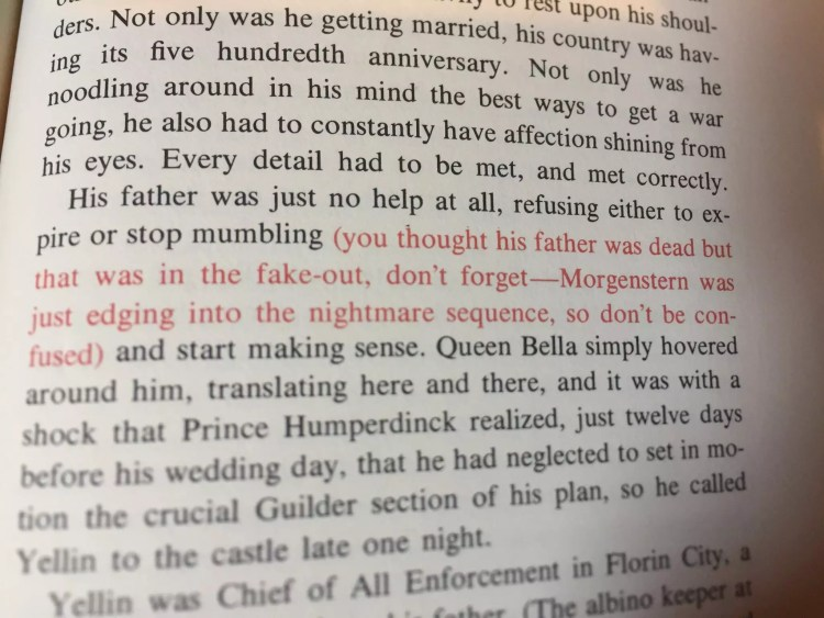 Princess Bride red text | visit beautifulbooks.info for more...