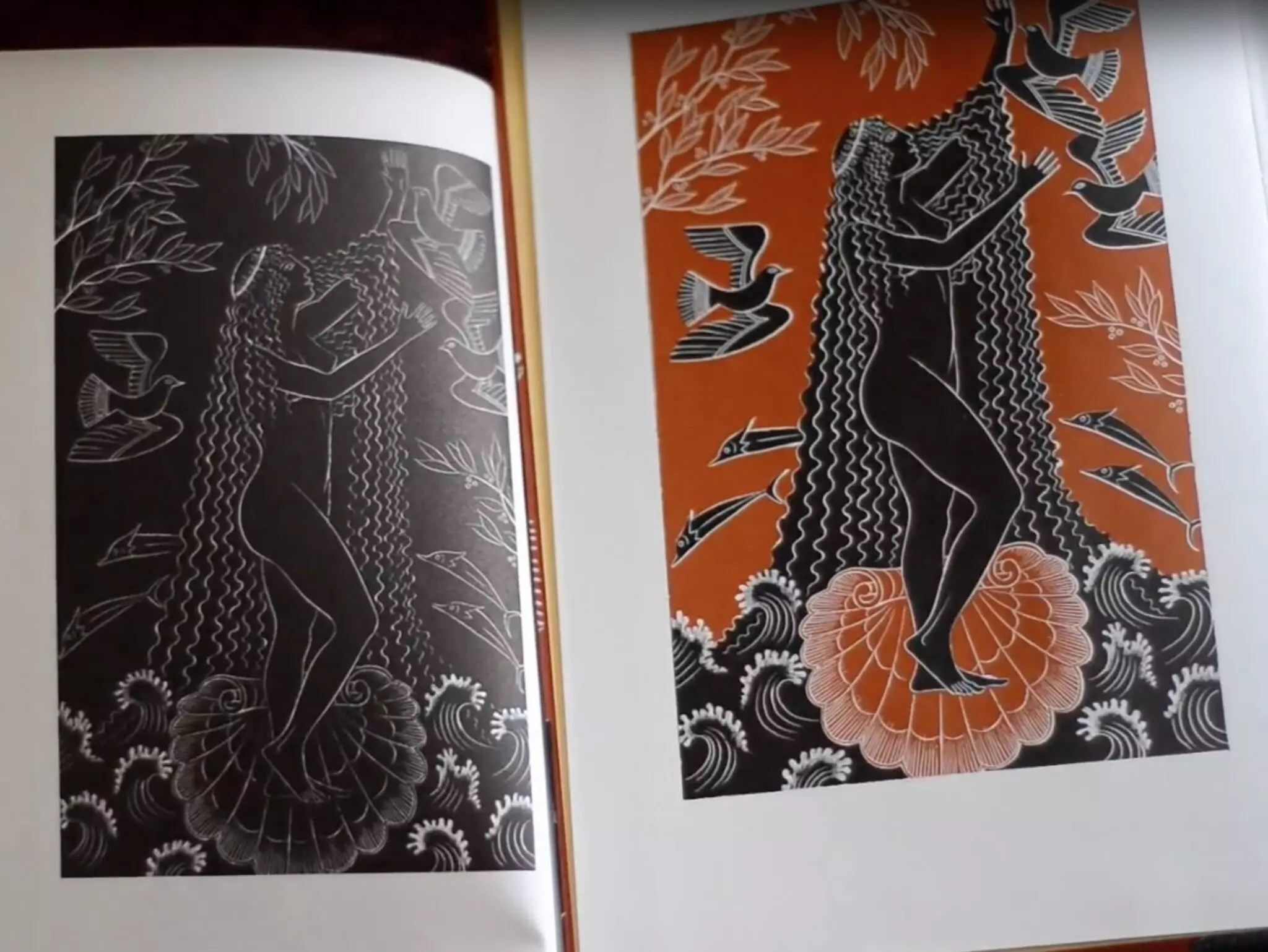 Compare illustrations from 1- and 2-vol FS Greek Myths – beautifulbooks.info